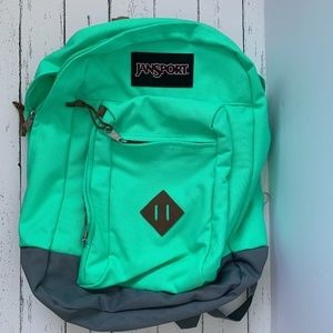 JanSport Reilly Seafoam Green Backpack Bags NWOT